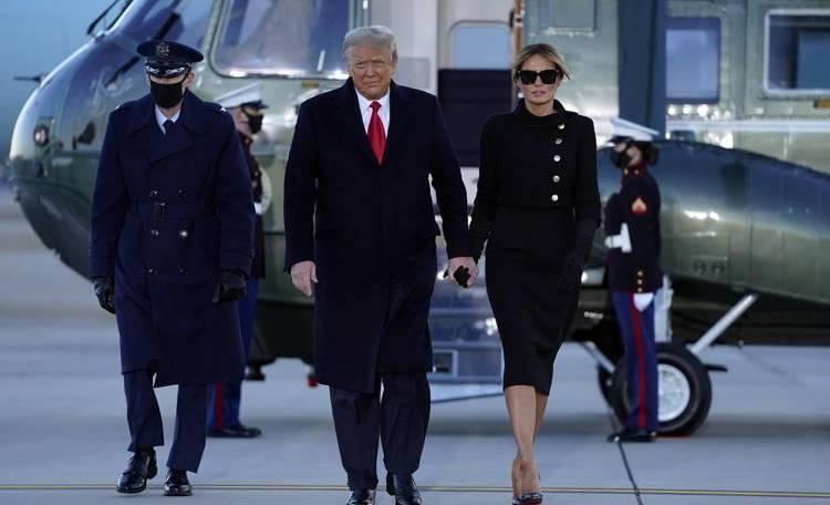 Trump lascia Washington dicendo orgoglioso: l'America ha un grande futuro