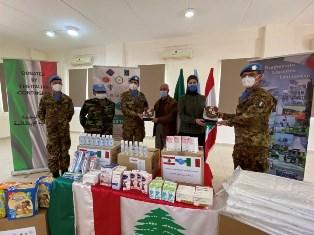 """Unifil: gli angeli della """"Taurinense"""" a supporto della popolazione libanese"""