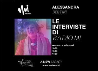 """L'ISTITUTO VA IN RADIO: LE RUBRICHE DELL'IIC DI TIRANA SU """"RADIO MI"""""""