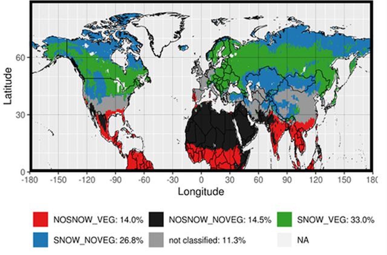 Neve e vegetazione modulano il riscaldamento climatico: pubblicato su ERL lo studio del Cnr