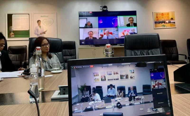 "Vietnam: il console generale Brandi al webinar ""SACE incontra Nutifood"""
