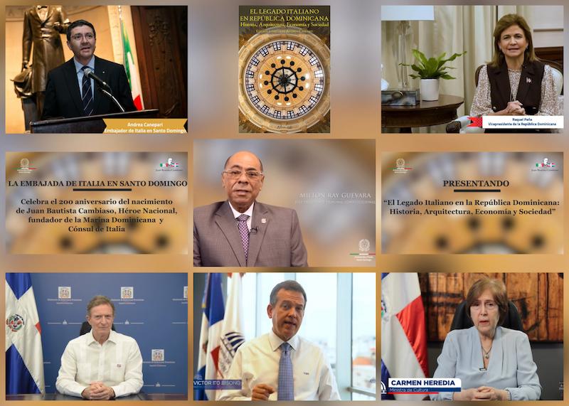 """Lancio virtuale del libro su """"L'Eredità culturale italiana in Repubblica Dominicana"""""""
