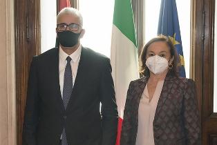 ITALIA – LIBIA: LAMORGESE INCONTRA IL COLLEGA FATHI BASHAGA