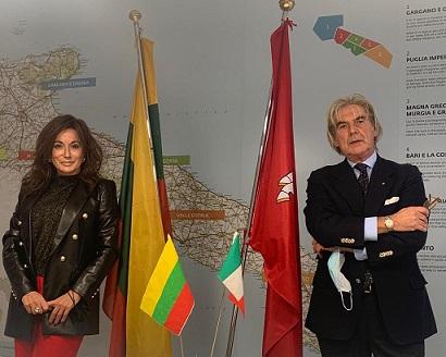 Puglia e Lituania nuovamente collegate a partire dalla primavera: grande impegno del Console della Lituania e di Pugliapromozione