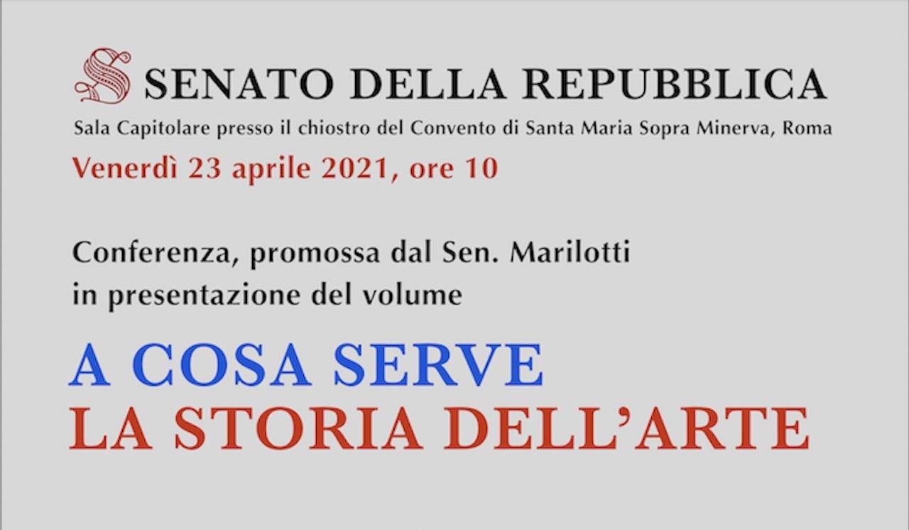 """""""A cosa serve la storia dell'arte"""": Luca Nannipieri presenta il suo volume in Senato"""
