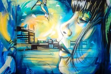 """Rai Italia: street art e finanza a """"L'Italia con voi"""""""