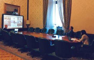 RIAPERTURA DELLE SCUOLE: IL MINISTRO AZZOLINA IN VIDEOCONFERENZA CON IL COLLEGA ARGENTINO TROTTA