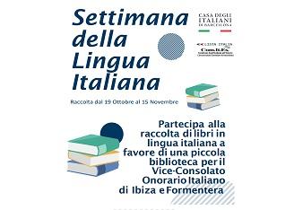 UNA BIBLIOTECA ITALIANA PER IBIZA E FORMENTERA: L'INIZIATIVA DI COMITES E CASA DEGLI ITALIANI A BARCELLONA