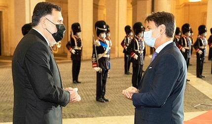 ITALIA – LIBIA: CONTE INCONTRA AL-SERRAJ