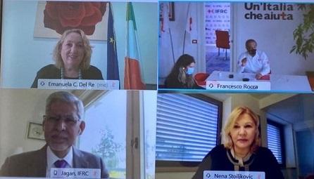 DEL RE: SOLIDO PARTENARIATO TRA ITALIA E FICROSS