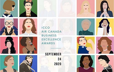 ICCO AIR CANADA BUSINESS EXCELLENCE AWARDS 2020: LA CERIMONIA DI CONSEGNA SU ZOOM
