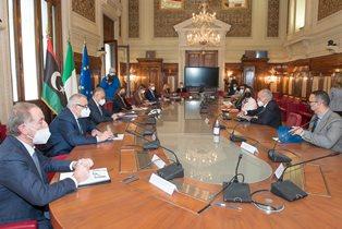 Italia – Libia: Lamorgese e Giorgetti incontrano Najla al Mangush