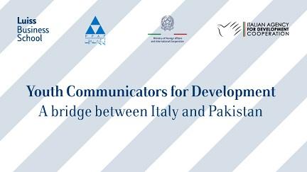 Giovani comunicatori per lo sviluppo: un ponte fra Italia e Pakistan