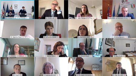 Parigi: l'ambasciatrice Castaldo presiede la riunione di coordinamento sulla promozione economico-commerciale