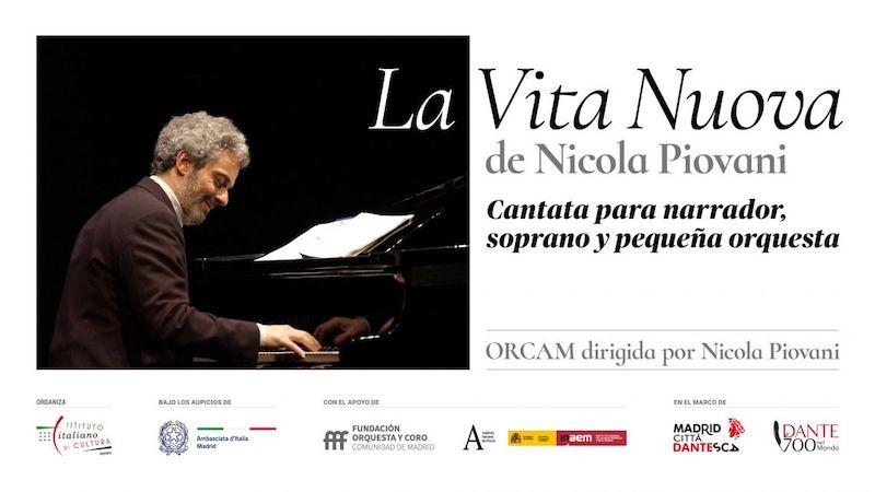 """""""La Vita Nuova"""" di Nicola Piovani a Madrid"""