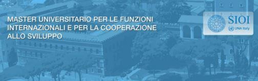 Funzioni Internazionali e Cooperazione allo Sviluppo: al via il Master della SIOI