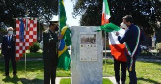 """Onore a medici e infermieri della """"Força Expedicionária Brasileira"""" che operarono a Pistoia nel 1944"""