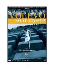 """""""Volevo Solo Vivere"""": il film di Calopresti a Los Angeles per la Giornata della memoria"""