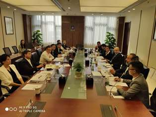 CHONGQING: IL CONSOLE BILANCINI VISITA IL CHENGDU ENVIRONMENT INVESTMENT GROUP