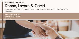 """DONNE, LAVORO & COVID: DA SAN FRANCISCO NUOVO APPUNTAMENTO CON """"RETE ROSA"""""""
