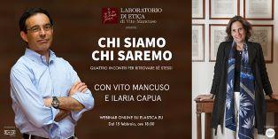 """""""Chi siamo, chi saremo"""": la scienziata Ilaria Capua e il filosofo Vito Mancuso a confronto"""