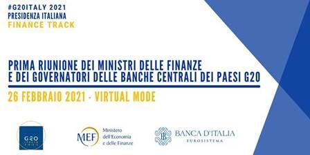 Venerdì la prima riunione dei Ministri delle Finanze e dei Governatori delle Banche Centrali dei Paesi G20