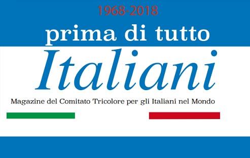 """Online il nuovo numero di """"Prima di tutto italiani"""""""