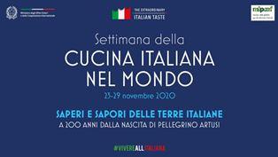 SETTIMANA DELLA CUCINA ITALIANA/ DI STEFANO: TRADIZIONI E TERRITORI SI FONDONO CON INNOVAZIONE, RICERCA, CULTURA E DESIGN