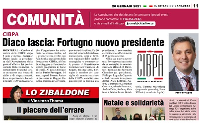 Diaco lascia: Fortugno nuovo presidente della Cipba