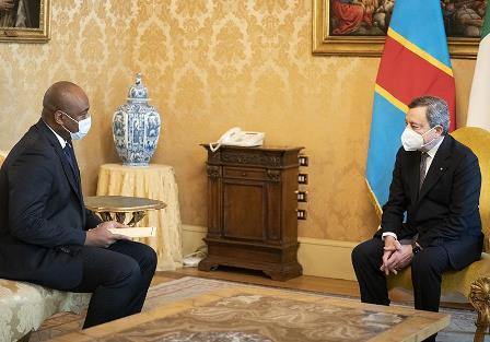 Draghi incontra l'inviato speciale del Presidente della Repubblica Democratica del Congo