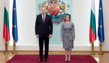 Sofia: l'Ambasciatrice Zarra presenta le lettere credenziali al presidente Radev
