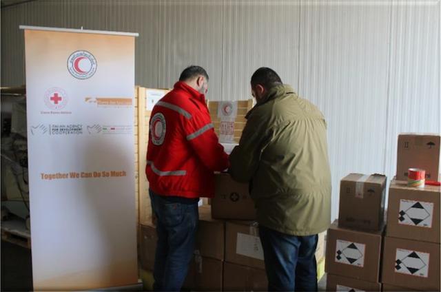 La Croce Rossa italiana dona 5 ecografie alla Mezzaluna Rossa Siriana