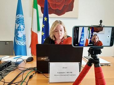 UNGA75/ IL VICE MINISTRO DEL RE ALL'ONU: ITALIA IN PRIMA LINEA CONTRO MALATTIE NON TRASMISSIBILI