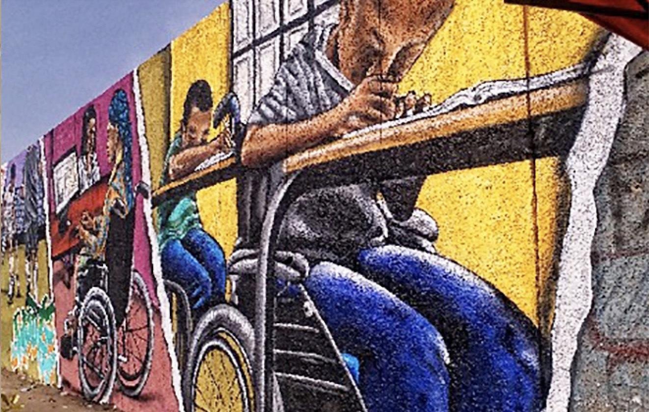 Street art, educazione e inclusione con l'AICS di Dakar