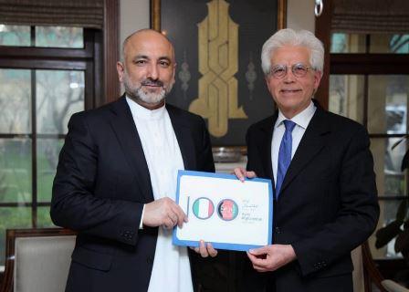 Italia - Afghanistan: presentato il logo ufficiale del Centenario delle relazioni diplomatiche