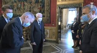 AMBASCIATORI AL COLLE/ MERLO: ONORE E RESPONSABILITÀ ACCOMPAGNARE IL PRESIDENTE MATTARELLA