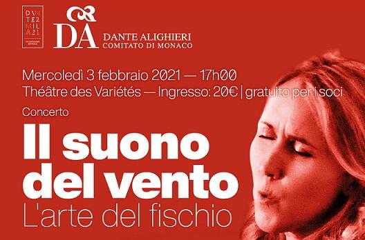 Il suono del vento: concerto a Montecarlo con la Dante Monaco