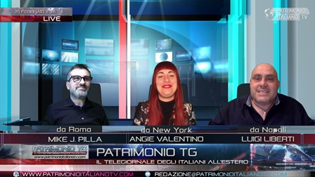 Patrimonio Tg: per la prima volta al mondo tre conduttori nello stesso studio... a distanza