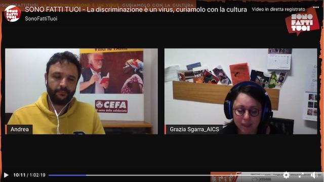 #SonoFattiTuoi: Grazia Sgarra dell'AICS al webinar dedicato al progetto Pinocchio