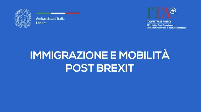 Brexit tra mobilità e immigrazione: continua la campagna di informazione dell'Ambasciata