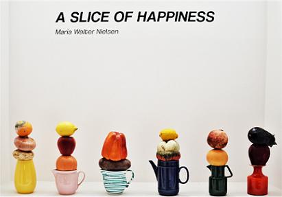 """""""A SLICE OF HAPPINESS / FETTE DI FELICITÀ"""": A COPENAGHEN LA MOSTRA VIRTUALE DI MARIA WALTER NIELSEN"""