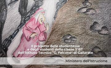 Verso il Dantedì: il Ministero dell'Istruzione lancia un racconto sui social animato da scuole e studenti
