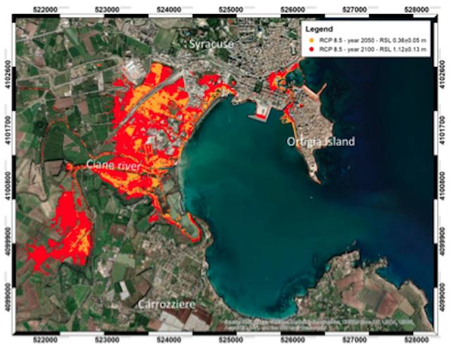 Gli effetti dei cambiamenti climatici sulle coste della Sicilia sud-orientale in una ricerca dell'INGV e delle Università di Bari e di Catania