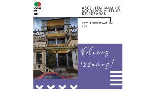 ARGENTINA: LA SOCIETÀ ITALIANA DI MUTUO SOCCORSO DI POSADAS COMPIE 122 ANNI