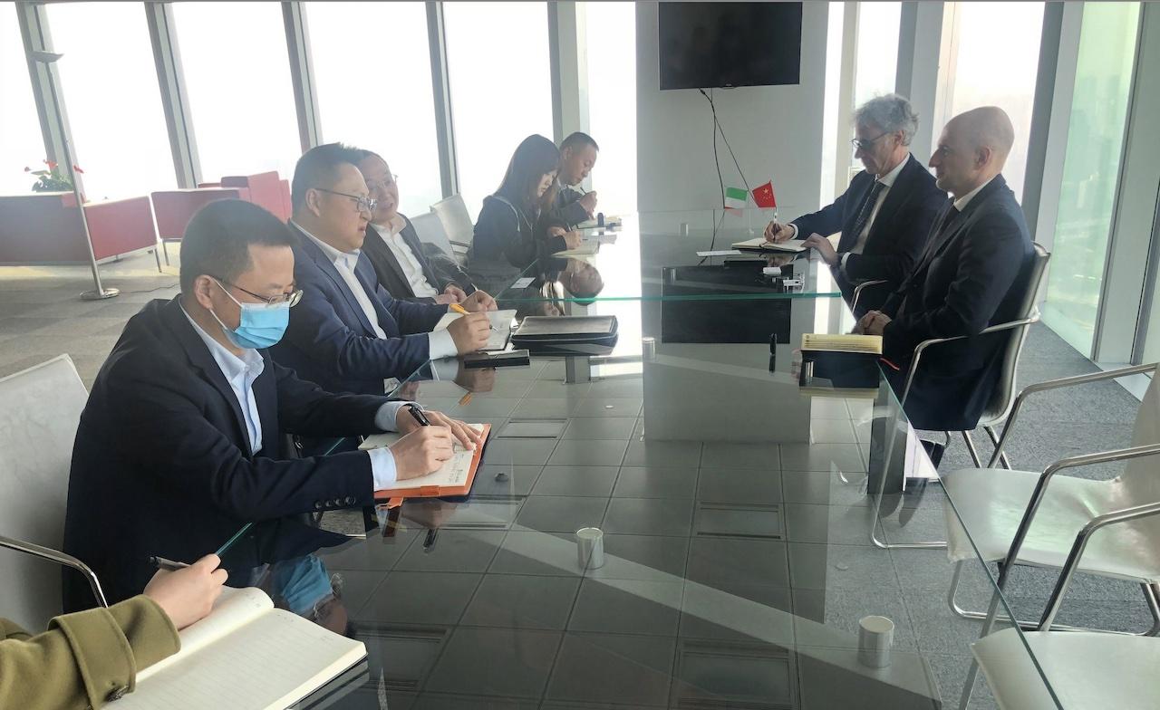 Chongqing: il console Bilancini incontra il Governo del Sichuan