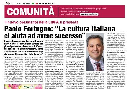 """Paolo Fortugno: """"La cultura italiana ci aiuta ad avere successo"""" – di Vittorio Giordano"""