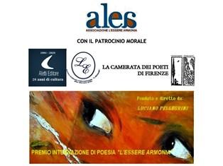 """Premio Internazionale di poesia """"L'essere Armonia"""", Assisi 2020-21 - di Goffredo Palmerini"""