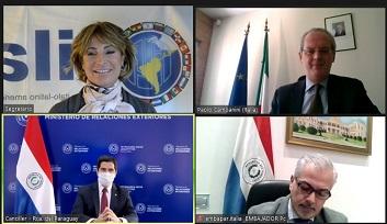 Iila-Paraguay: Cavallari in videoconferenza con il Ministro González Franco