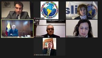 Iila-Ecuador: Cavallari incontra il Ministro Gallegos Chiriboga