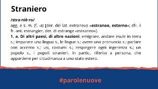#PAROLENUOVE: LA NUOVA CAMPAGNA DELL'OIM IN ITALIA